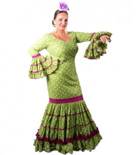 Robe Flamenco Pour Femme, Taille 48 (XL)