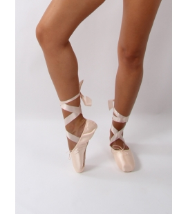 Chaussons de ballet pointe rigide