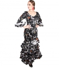 Robe Espagnole Flamenco, Taille 44