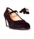 Chaussure flamenco en daim 573052