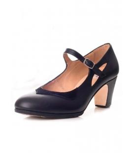 Chaussure de danse flamenco en daim 573062-P
