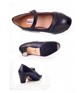 Chaussure de danse flamenco en cuir 577-049