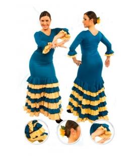 Jupe de flamenco, modèle EF084 Mme