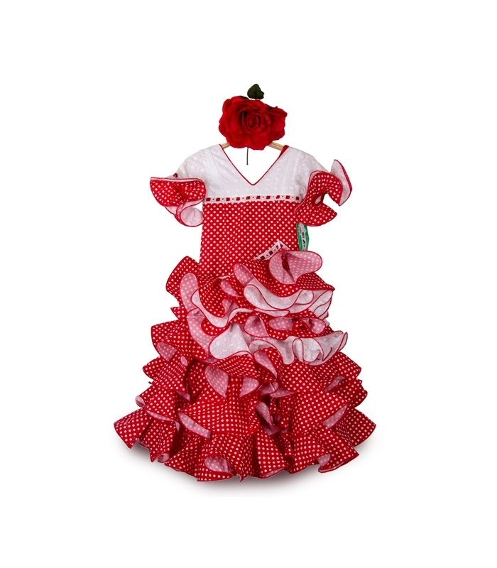 Robe Flamenco Enfant, Amapola