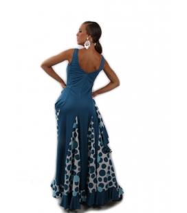 Robe de danse flamenco Bailaora avec godets