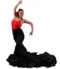 Jupe de Flamenco á Queue