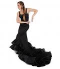 Jupe de Flamenco à Queue