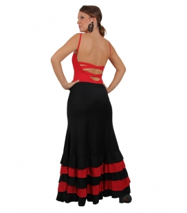 Falda baile mod. EF-200 (punto-punto)