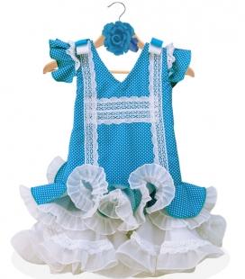 Robe Espagnole Fille pas cher Taille 4