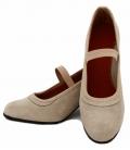 Chaussures Flamenco en Daim avec Clous avec Clous