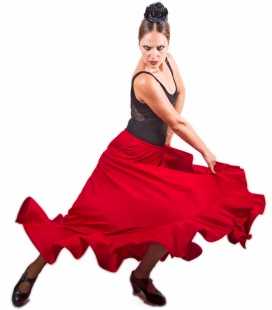 Jupes de danse flamenco