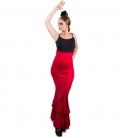 jupes de flamenco rouges