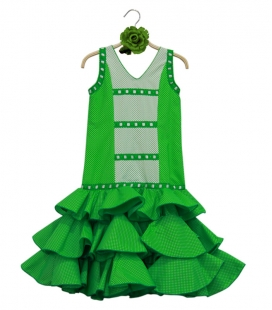 Robes De Flamenco Pour Filles, Taille 7