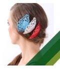 Peignes de flamenco et boucles d'oreilles