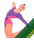 Gymnastique Rythmique Femme / Fille