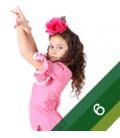 Taille 6 robe de flamenco fille