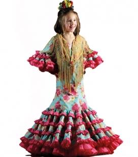 Robe de flamenco pour fille 2018