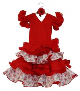 Robe De Flamenco Pour Fille