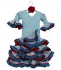 Robe Espagnole Fillette, Taille 0