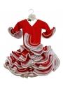 Robe de Flamenco Pour Enfant, Taille 0
