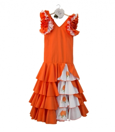 962dec75f3e2e Robe de flamenco enfant