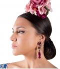 Boucles d'oreilles de Flamenco, modèle Bellota