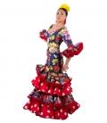 Robe de Flamenco 2018, Cale Taille 36 (S)