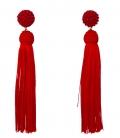 Boucles d'oreilles Frangées - Accessoires flamenco El Rocio