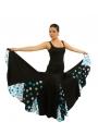 Jupe de flamenco pour sévillanes, modèle EF-006
