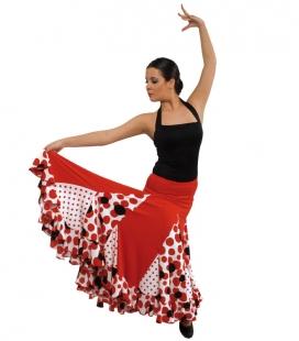 Jupe de flamenco filles EF075