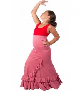 8e4f66051e7 Jupes de danse flamenco pour fillette - El Rocío