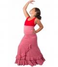 Jupe Flamenco Enfant, Modele Salon