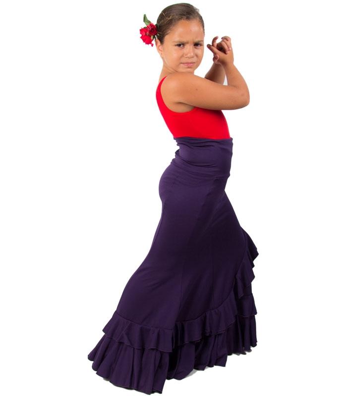 Jupe flamenco fille modele salon - Modele salon ...