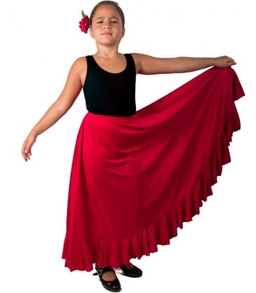 Jupes de flamenco pour filles