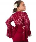 Veste dentelle de Flamenco pour Fille