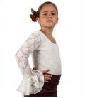 Top de Flamenco Pour Filles