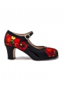 Chaussures Professionnelle De Flamenco Rosella