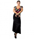 Jupes de Flamenco En Velours
