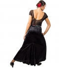 Jupes de danse flamenco en velours