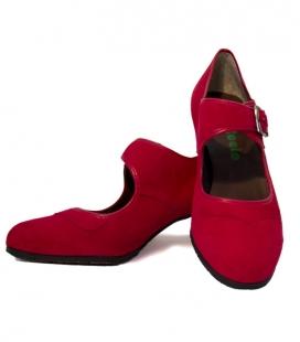 Chaussures de danse en daim