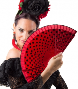 Eventail flamenco