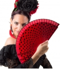Eventail flamenco