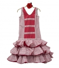 Rope de flamenco fille pas cher