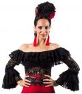 Chemise En Dentelle De Flamenco