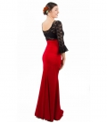Jupues de flamenco rouge