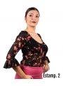 Haut De Flamenco à motifs