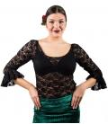 Haut Flamenco à Dentelle