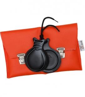 Castagnettes En Fibre Noir Professionnel