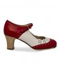 Zapatos de flamenco profesional