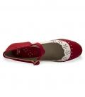 zapatos de flamenco modelo fresa